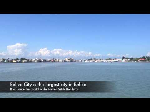 Tender Boat to Belize City, Belize from Cruise Ship