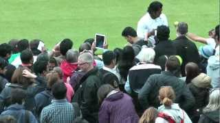 Bryan & Huber vs Paes & Vesnina: Match Point (Wimbeldon 2012)