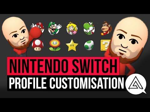 Nintendo Switch | Profile, Avatar & Mii Customization Options