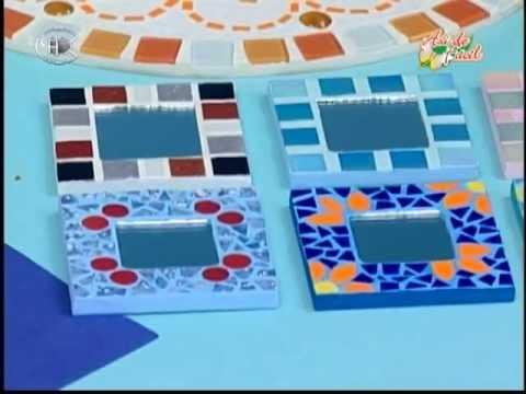 Manualidades pelusa espejos de cartera youtube - Espejos para manualidades ...