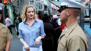 Fleet Week Interviews by Girl Around Town