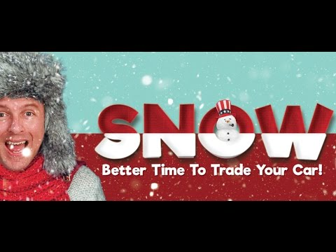 Snow Better Time To Trade At Frank Myers Auto in Winston-Salem, NC