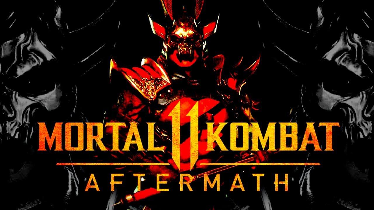 Mortal Kombat 11 Aftermath All SHAO KAHN Scenes (HD Movie) | MK11