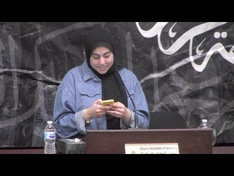 Commemorating Lady Fatima (a) With Sayed Hadi Qazwini - Night One