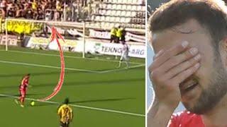 Värsta självmålen i Allsvenskan 2018
