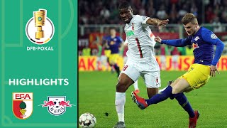 Werner scores in dramatic overtime win | FC Augsburg vs. RB Leipzig 1-2  | Highlights | DFB-Pokal