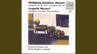 "Symphony in G major ""New Lambach"": Allegro"