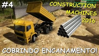 Cobrindo Encanamento & Mais Demolições - Construction Machines Simulator 2016 #4