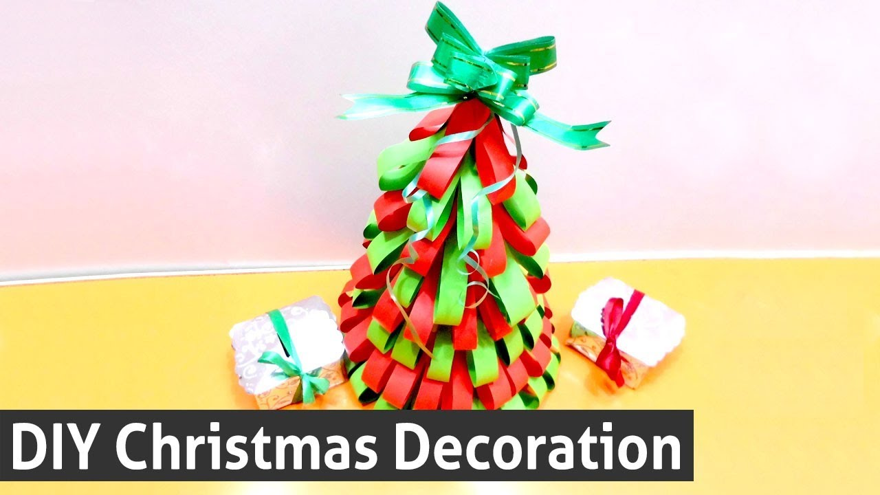 How To Make Christmas Tree Out
