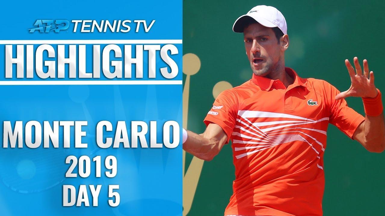 Djokovic and Nadal Cruise ; Zverev And Thiem Shocked | Monte-Carlo 2019 Highlights Day 5