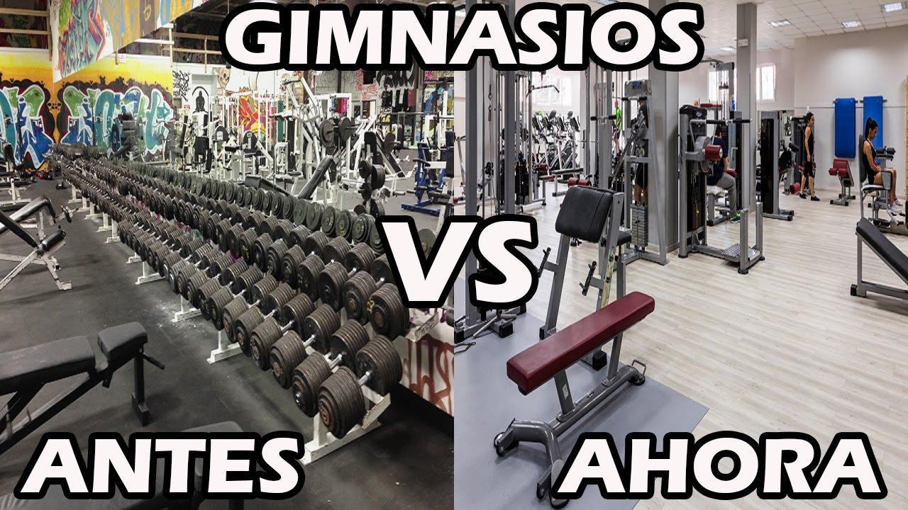 Los gimnasios de ahora vs los gimnasios de antes youtube for Gimnasio gimnasio