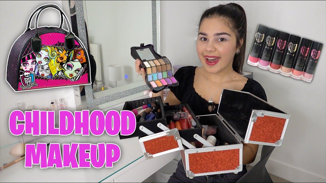 Reusing My Childhood Makeup | Grace's Room