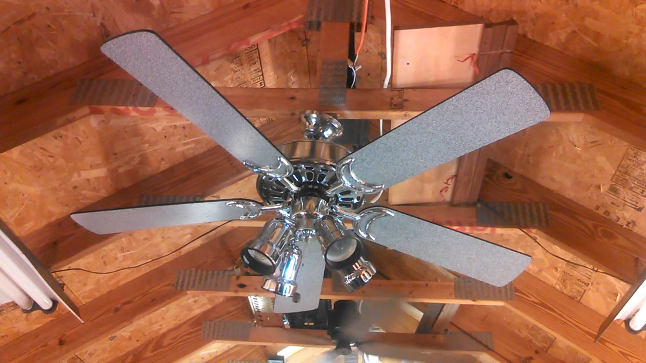 Gulf Coast Dixie Belle Ceiling Fan In Chrome Finish With Granite Blades