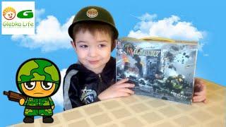 Детский военный  набор. Играем в  ВОЙНУШКИ! watch children's war game