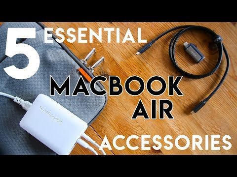 5 Must Have MacBook Air Accessories 2019 | Buying Guide | mrkwd tech