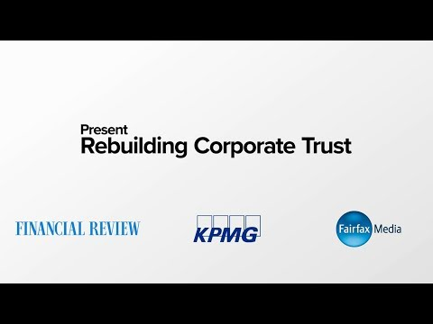 AFR Special Report – Rebuilding Corporate Trust roundtable