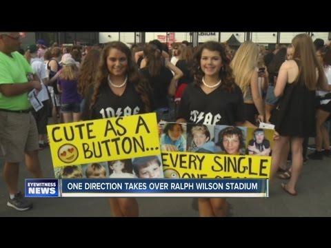 One Direction plays Ralph Wilson Stadium