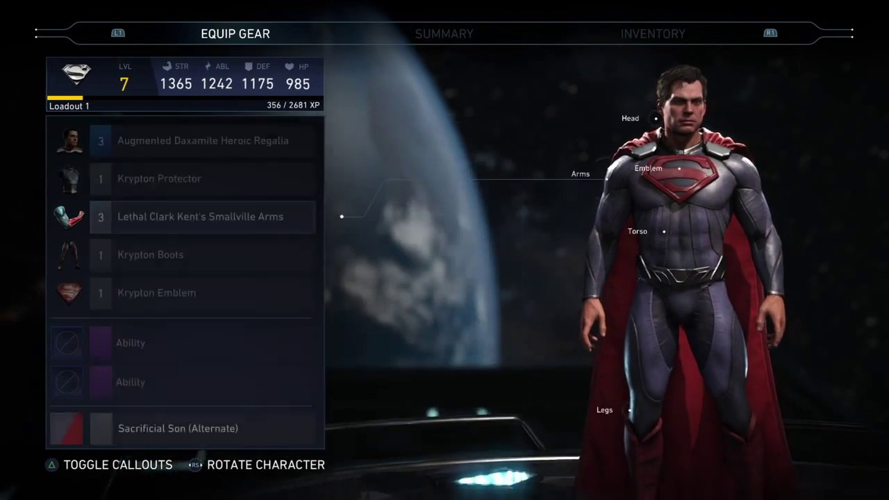 Injustice 2 man of steel superman inspired gear loadout showcase injustice 2 man of steel superman inspired gear loadout showcase biocorpaavc