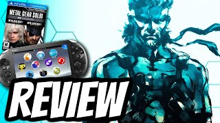 Metal Gear Solid HD COLLECTION Playstation Vita REVIEW (PS VITA) HD Gameplay