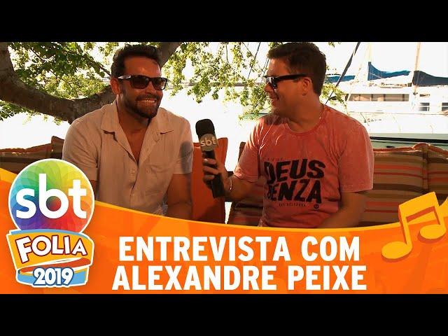 Alexandre Peixe revela quais são as músicas mais pedidas no carnaval | SBT Folia 2019