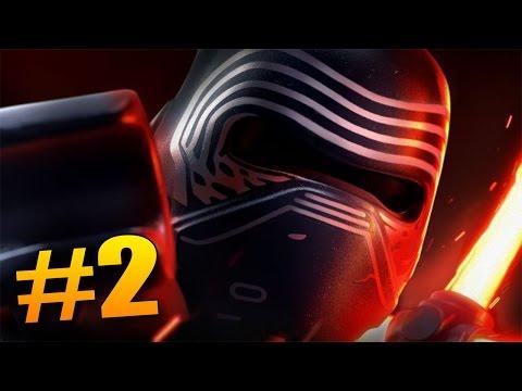 KYLO REN ÚTOČÍ! - Lego Star Wars The Force Awakens #2