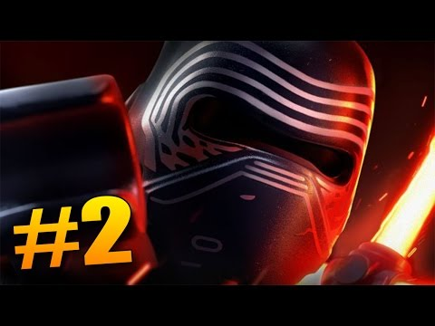 KYLO REN ÚTOČÍ! - Lego Star Wars The Force Awakens #2