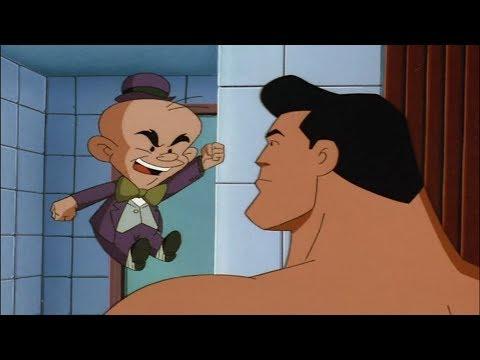Superman Keeps Tricking Mr. Mxyzptlk - Superman: The Animated Series