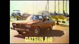 Video 1978 Datsun 810 Commercial download MP3, 3GP, MP4, WEBM, AVI, FLV Agustus 2018