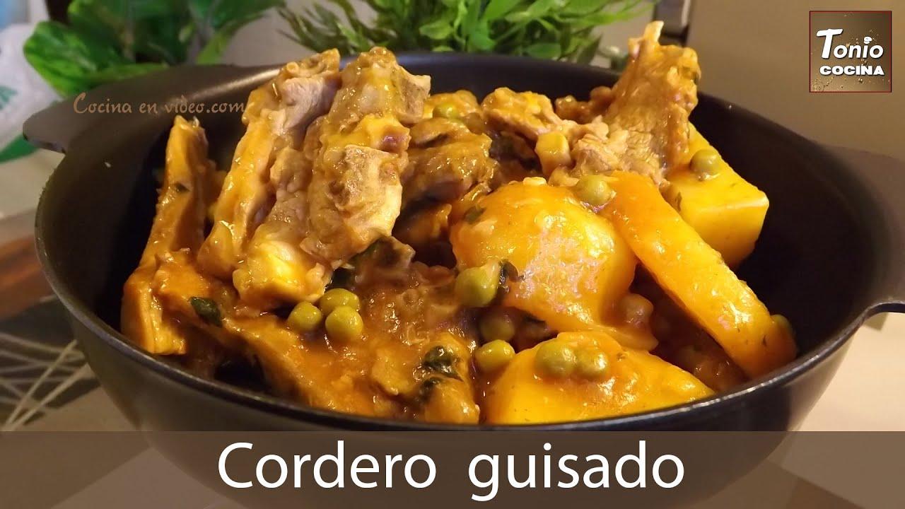 Cocinar Cordero Guisado | Cordero Guisado Con Patatas Un Plato De Toma Pan Y Moja Tonio