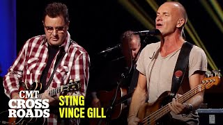 """Vince Gill & Sting Perform """"Every Breath You Take"""" 