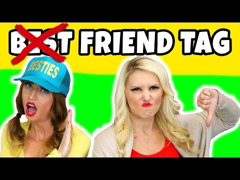 Not Best Friend Tag Challenge. Will We Break Up Being BFFs? Totally TV