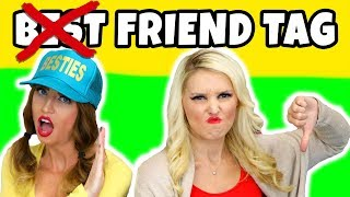 Not Best Friend Tag Challenge. Will We Break Up Being BFFs? Totally TV