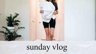 SUNDAY RESET | cleaning, meal prep, weekly planning