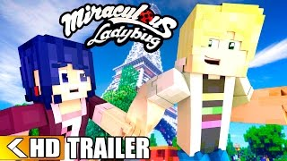 Miraculous Ladybug Movie: THE BIG REVEAL! Minecraft Ladybug and Cat Noir Love | Official Trailer