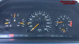Давление масла в двигателе Mercedes Benz W124 E420