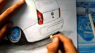 DRAWING | Desenhando - VW Up! Castor Suspensões - L.A Design Crew