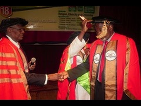 NIGERIAN ACADEMY OF LETTERS FELLOWSHIP INVESTITURE