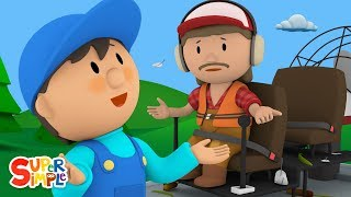 Horace's Hovercraft Is A Huge Swampy Mess! | Carl's Car Wash | Kids Cartoons
