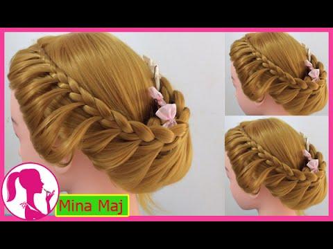 Hairstyles - Hướng Dẫn Cách Tết Tóc Đơn Giản Cực Xinh Cho Bạn Gái