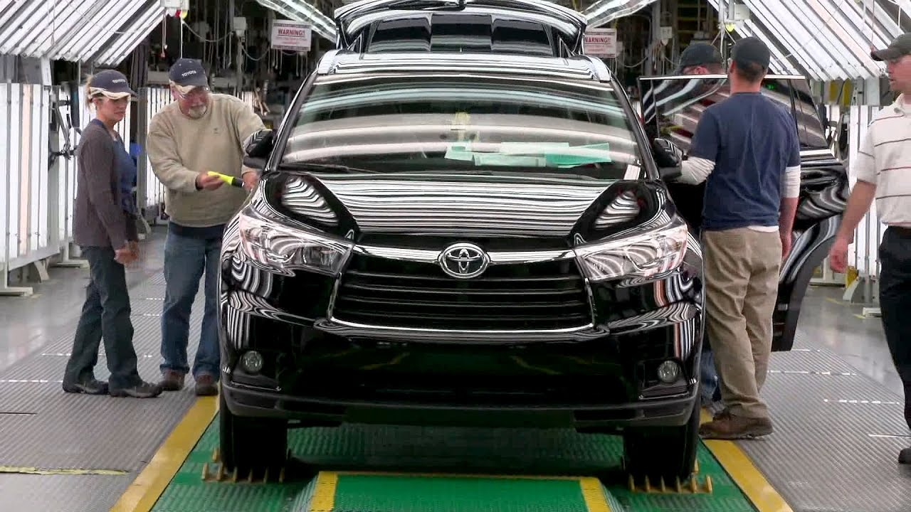 High Quality Toyota Highlander Production At Toyota Motor Manufacturing, Indiana