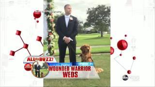 Golden Retriever Serves As Best Man At Vet's Wedding