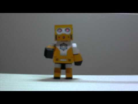 RQ-5 DIY Paper Robot