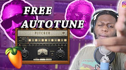 How to use autotune in FL Studio using Pitcher For FREE!