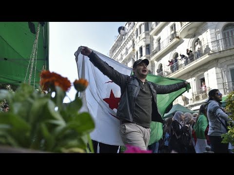 US supports Algerian protests against Bouteflika's fifth term bid