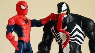 La scontro tra Spiderman e Venom [Storie di Supereroi]