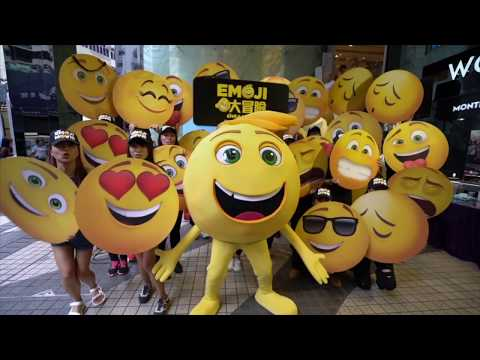 Human Sized Emoji's Take Over The Globe on 'World Emoji Day'