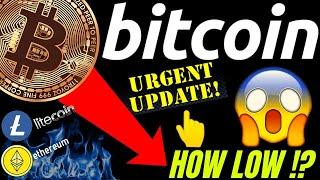 URGENT UPDATE!! BITCOIN LITECOIN and ETHEREUM LOWER TO GO!? crypto TA, analysis, news, trading