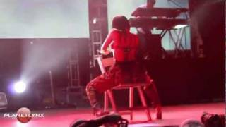 NICKI MINAJ AT REGGAE SUMFEST 2011 MONTEGO BAY JAMAICA PT1!!!.mov