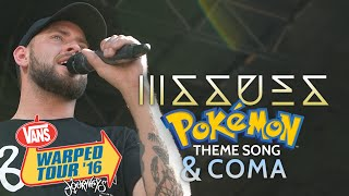 """Issues - 'Pokemon Theme Song' and """"COMA"""" LIVE! Vans Warped Tour 2016"""