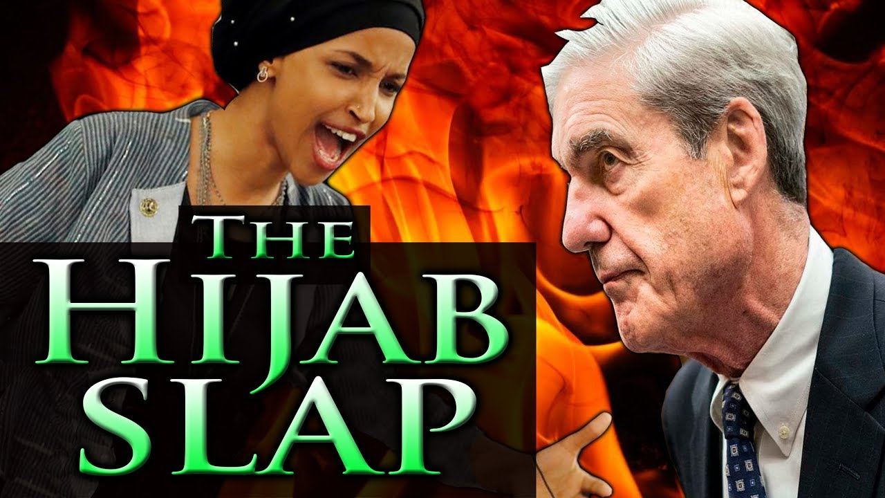 IIHAN OMAR: the HIJAB SLAP ~ Omar & Mueller